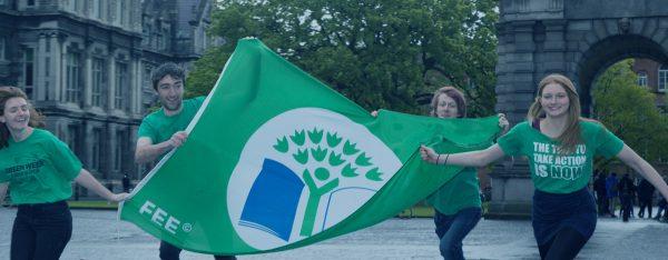 Trinity flag raising